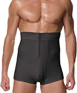 Men Tummy Shaper High Waist Control Shapewear Waist Shorts Brief