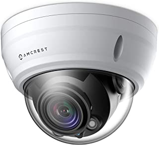 Amcrest UltraHD 4K Varifocal PoE Dome Outdoor Security Camera, 4K (8-Megapixel) 3840x2160P, 164ft Night Vision, 4X Optical...