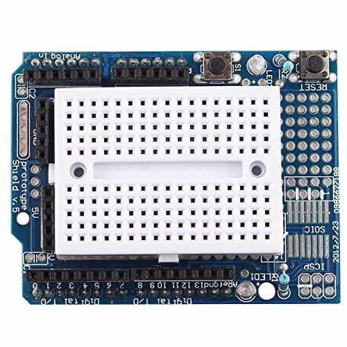 ProtoShield Prototyp Erweiterungsplatine mit Mini Expansion Brot für Arduino UNO MAGA Nano durch Roboter