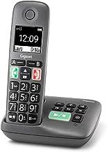 Gigaset Easy mit Anrufbeantworter – Schnurloses Senioren-Telefon mit großen Tasten und..