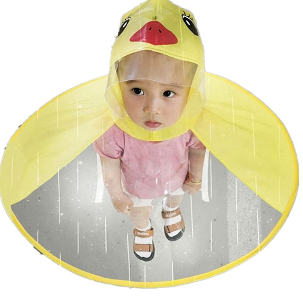 Kids Raincoats, Clearance! Toddler Baby Boy Girls Cute UFO Umbrella Hat Rain Jacket Coat Poncho Rainwear