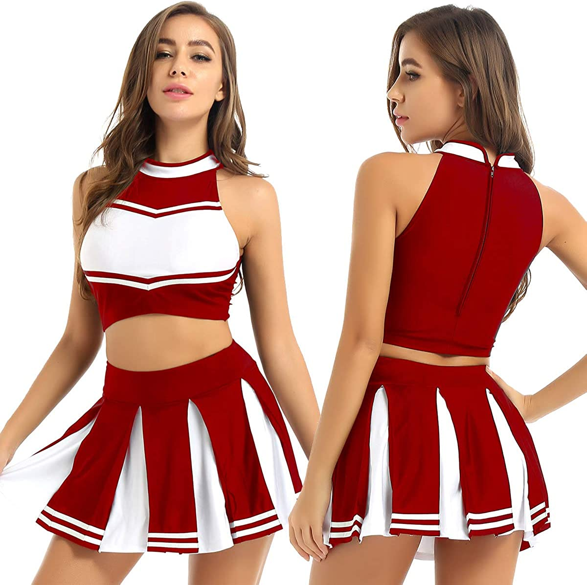 Mufeng Women's Girls School Musical Cosplay Cheer Party Spasm price Costume NEW before selling ☆