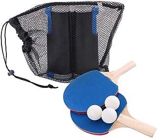 NUOLANDE Mesa de Ping Pong portátil Conjunto, Conveniente Mano-Pull Mesa de Ping Pong Neto Rack Set 5 cm mandíbula Grande Adecuado para Cualquier Lugar