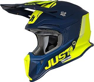 Just1 J18 Pulsar MIPS Motocross Helm Blau/Gelb L 59/60