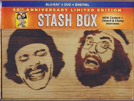 Up in Smoke - 40th Anniversary Limited Edition Stash Box Blu-ray + DVD