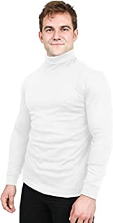 Premium Cotton Blend Interlock Turtleneck Men T-Shirt