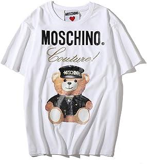 3f7fe38b66 Moschino White Bear Short Sleeve T-shirt Lady Tee White For Women and Girl