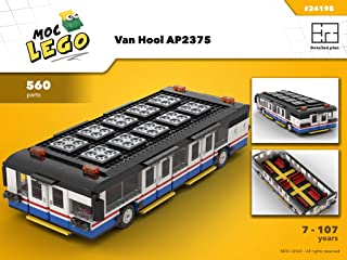 Van Hool AP2375 (Biggest bus in the world) (Instruction Only): MOC LEGO