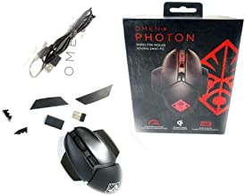 H P Omen Gaming Photon Wireless Mouse Red & Black 6CL96AA 6CL96AA#ABL by EbidDealz