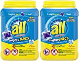 all Stainlifters Mighty Pacs Super Concentrated Laundry Detergent, Original Scent, 72 Loads, 50.7 Ounce (Pack of 2)