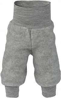 Organic Baby Pants for Boys and Girls, 100% Merino Wool Fleece, Machine Washable