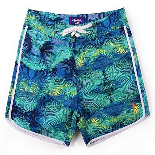L.Bolt Fractal Palmtree Vandura Ice Short de Surf pour Homme Vert 32