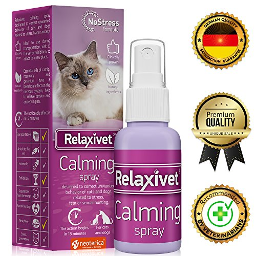 Relaxivet Natural Calming Spray