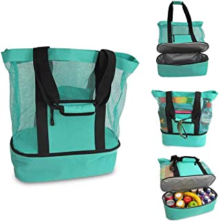 TraGoods Multi-function Picnic Beach Camping cooler bag ice bag lunch bag with zipper Insulation Bag Ice Bag Lunch Bags