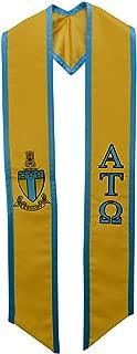 alpha tau omega graduation stole