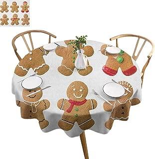 gingerbread treats fabric