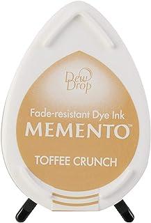 Tsukineko Memento Dew Drop Fade Resistant Dye Inkpad, Toffee Crunch