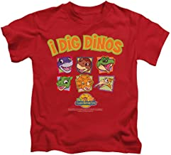 Sons of Gotham Land Before Time I Dig Dinos Kids T-Shirt