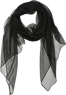 Solid Color 100% Silk Long Scarf