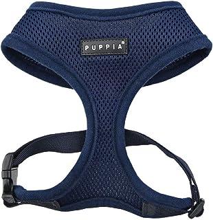 Puppia Soft Dog Harness, Navy, Medium