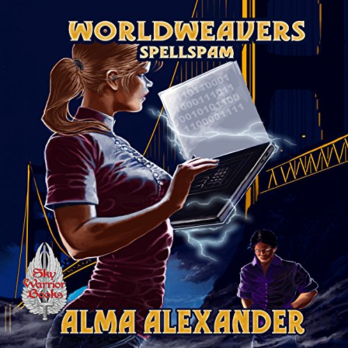 Spellspam audiobook cover art