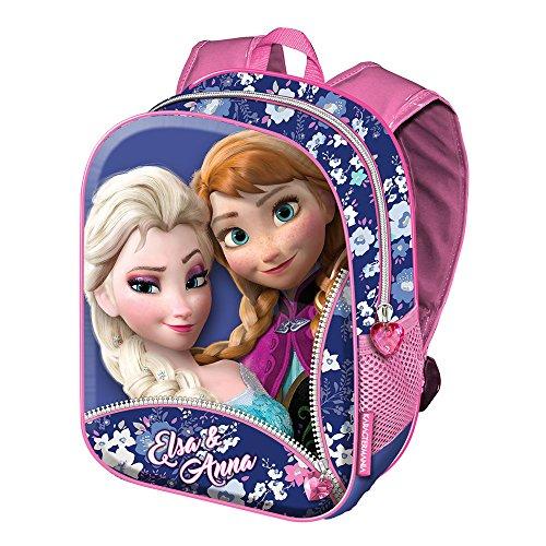 Frozen Zipper Zainetto per bambini, 39 cm, Rosa