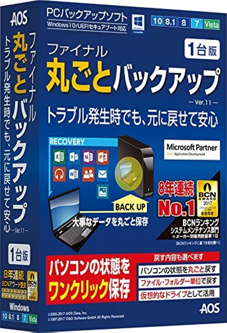 プラカード瞳資格ファイナル丸ごとバックアップ 1台版