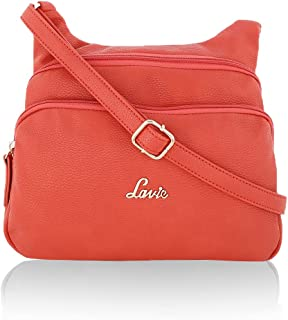 Lavie Cetan Women's Sling Bag (Orange) (Numbers 1)
