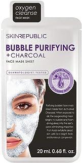 Skin Republic Bubble Purifying plus Charcoal Face Mask Sheet - 20 ml