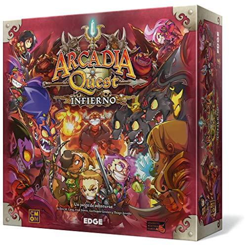 Edge Entertainment- Arcadia Quest: Infierno - Español, Color (Edge Entertaiment EECMAQ18)