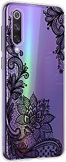 Oihxse Mandala Flores Encaje Patrón Serie Case Compatible con OnePlus 7T Pro Funda TPU Silicona Suave Protector Ultra Slim Anti-Rasguño Transparente Carcasa (A7)