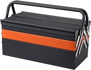 Lightdot Hardware Portable Cantilever Toolbox, 5 Drawers Metal Tools Box