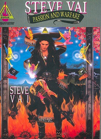 Steve Vai Passion and Warfare - Guitar - Book