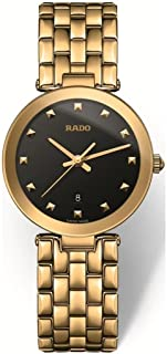 Rado Women's Black Dial Metal Band Watch - R48872163