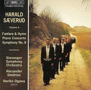 Saeverud: Fanfare & Hymn / Piano Concerto, Op. 31 / Symphony No. 9