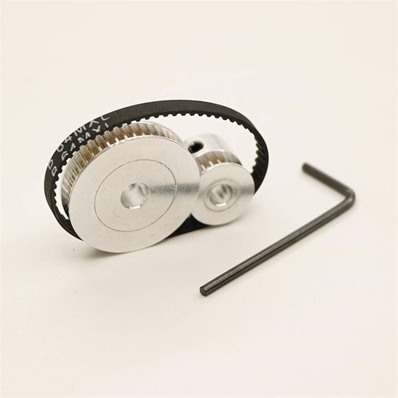 Pnloog-Timing Pulley Timing Belt Pulley MXL 19teeth 41teeth, Bel