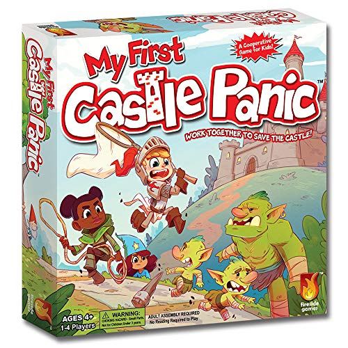 Fireside Games FSD1013 My First Castle Panic, Multicolor álbum de foto y protector , color/modelo surtido