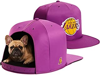NAP CAP NBA Los Angeles Lakers Team Indoor Pet Bed, Purple (Available in 3 Sizes)
