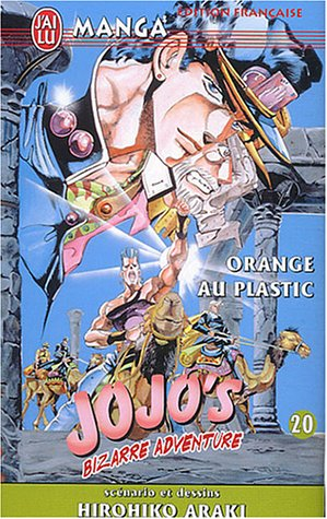 Jojo's Bizarre Adventure, tome 20 : Orange Plastic (édition française)