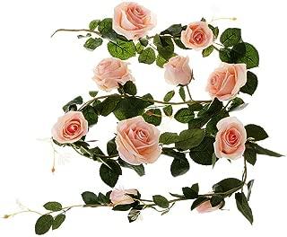 6ft Large Wedding Bouquet Silk Rose Home Decor Artificial Faux Flowers Pink
