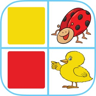 Match Colors and Words! Kids Memory Game