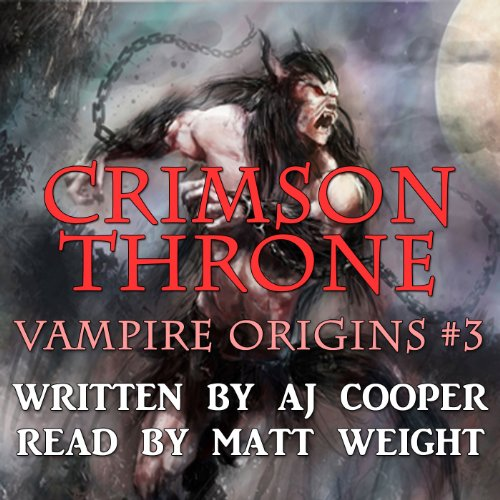Crimson Throne audiobook cover art