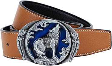 Boucle ceinture pour lani/ère universelle trio loups