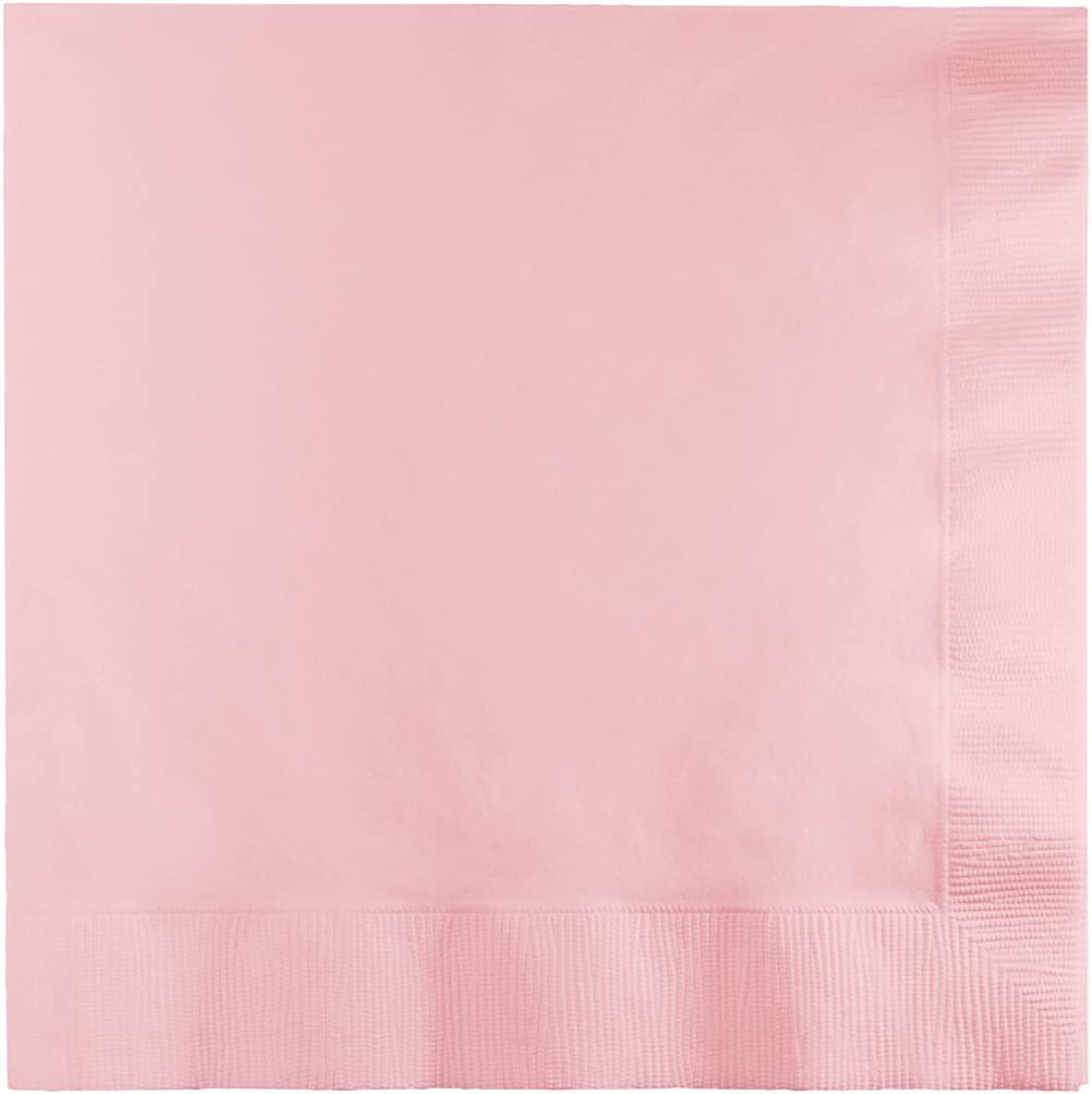 Creative Converting Luncheon Napkin, One size, Classic Pink