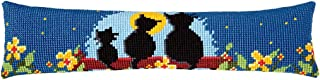 Vervaco Draught Excluder Cat Family Cross Stitch Kit, Multi-Colour