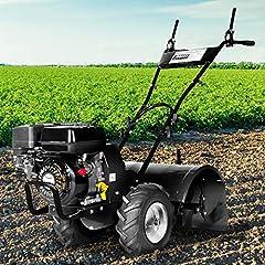 BRAST Benzine tuinsnijder 5.15kW (7.0pk) Zelfrijdende 50cm Freesbreedte 212ccm TÜV getest motorschoffel Veldsnijder Grondsnijder*