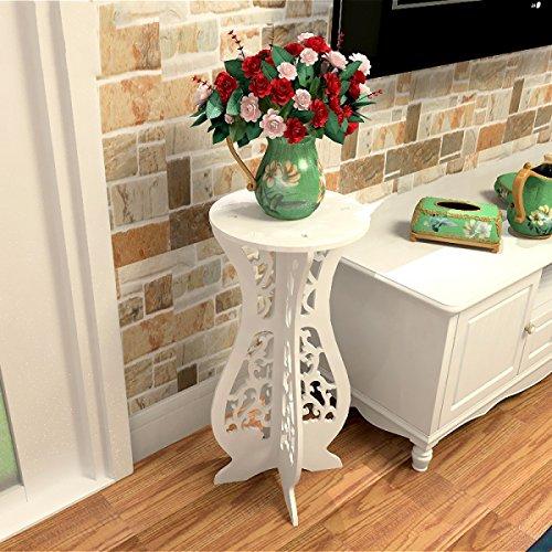 FZN Style Européen Chevalet Moderne Salon Chambre Armoires Casiers Mini Stockage Côté Armoires Pots de Fleurs