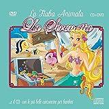 Le Più Belle Canzoncine & Fiabe Cd Audio + DVD della Sirenetta Idea Regalo per bambini e Per Feste di compleanno