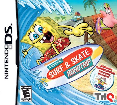 THQ SpongeBob's Surf And Skate Roadtrip, NDS, ESP - Juego (NDS, ESP)