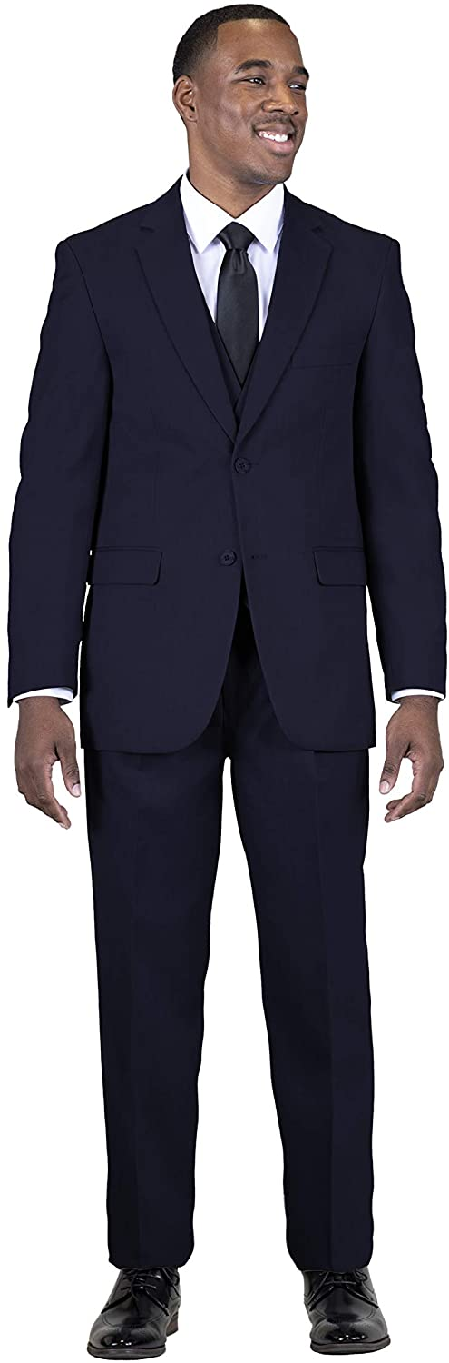 National uniform free shipping STACY ADAMS Men's Suny Ranking TOP8 Suit 3 Vested Piece